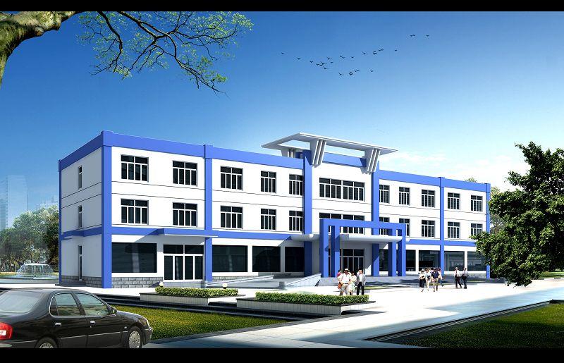 新绿嘉腻子粉厂办公楼